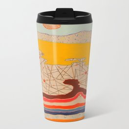 obstructions Metal Travel Mug