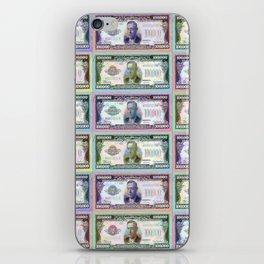 180 Million Dollars Money Bling Cash Dollar Bills iPhone Skin