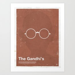 Framework - The Gandhi's Art Print