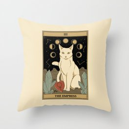 The Empress Throw Pillow