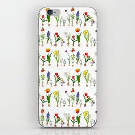 Spring Flowering Bulbs iPhone Skin