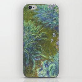 Irises by Claude Monet iPhone Skin
