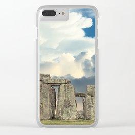 Stonehenge VI Clear iPhone Case