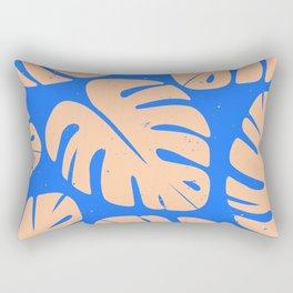 Monstera Leaf Print 5 Rectangular Pillow