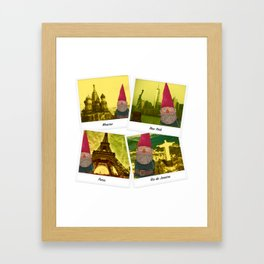 The fate of the gnome Framed Art Print