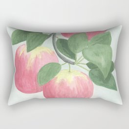 Pink Lady Apples Rectangular Pillow