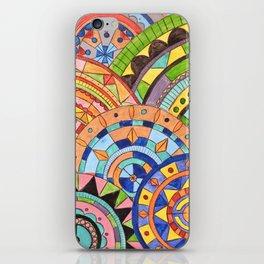 Overlay mandala  iPhone Skin