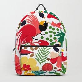 tropical botanical Backpack
