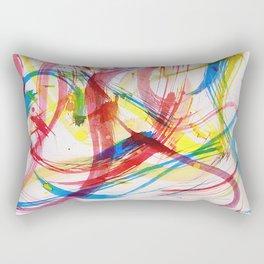 Dancing colors 2 Rectangular Pillow