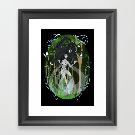 The Song of Lúthien Tinúviel Framed Art Print
