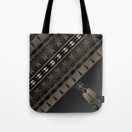 Elk Spirit (Gray) Tote Bag