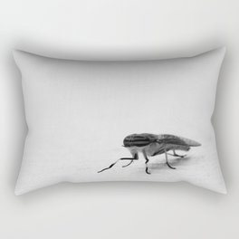 B&W Fly Rectangular Pillow