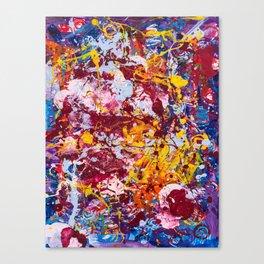 Neural carnival Canvas Print