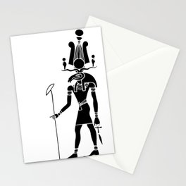 Khensu - God of ancient Egypt Stationery Cards