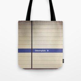 Munich U-Bahn Memories - Odeonsplatz Tote Bag