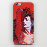 vonnegut iPhone & iPod Skins featuring Vonnegut -  The Sirens of Titan by Neon Wildlife
