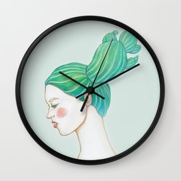 CACTUS GIRL Wall Clock