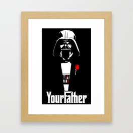 YourFather Framed Art Print