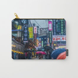 Raining in Gangnam Carry-All Pouch