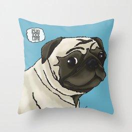 xxxPugLifexxx Throw Pillow