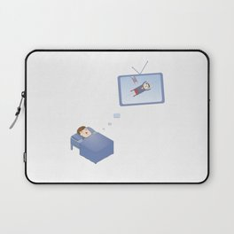 Who manages your dreams? Laptop Sleeve