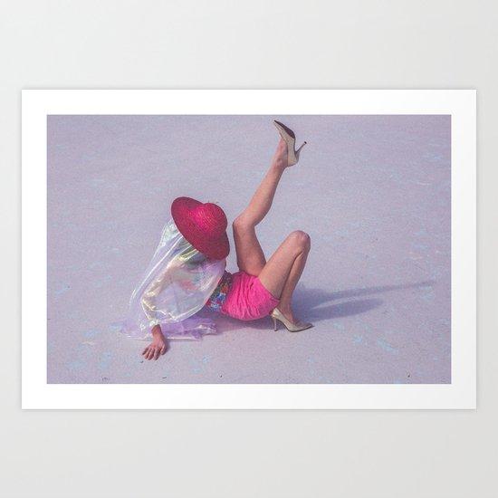 Pink Lady 2 Art Print