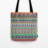 ethnic Tote Bags featuring  Ethnic  by moniquilla
