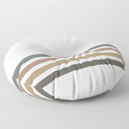 PB Rainbow Floor Pillow