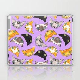"""Oro?"" Cats-Lavender Laptop & iPad Skin"