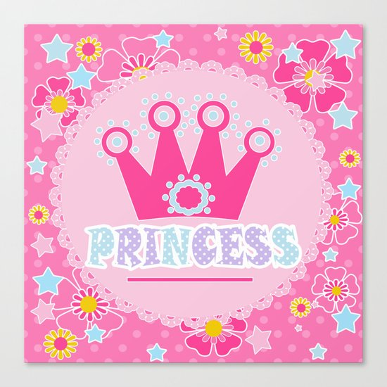 """For the little Princess. From the series """"Gifts for kids"""" . Canvas Print"""