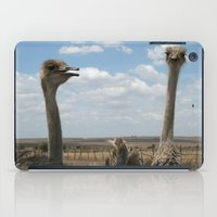 ostrich iPad Cases featuring Ostrich by wendygray