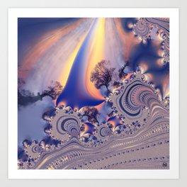 FractalForestII/ Art Print
