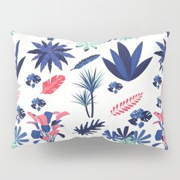 Mixed Leaves Pattern Pillow Sham