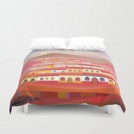 Afternoon in Guatemala Duvet Cover