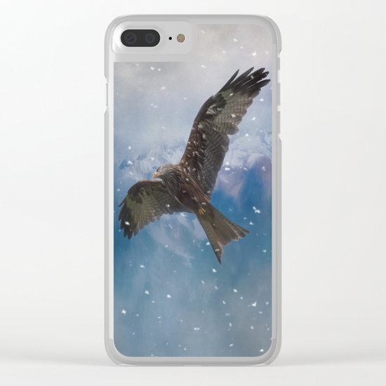 Flying Eagle Clear iPhone Case