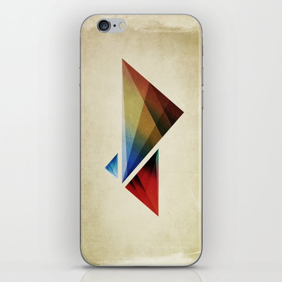 Triangularity Means We Dream in Geometric Colors iPhone & iPod Skin