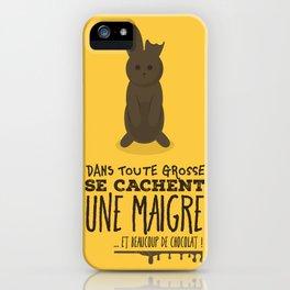 Chocolat iPhone Case