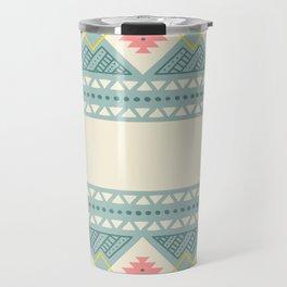 Colorful Geometric Boho Style 2 Travel Mug