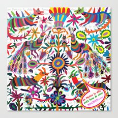 Mexicanitos al grito - Tenangis Canvas Print