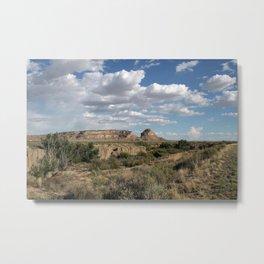 Fajada Butte Metal Print