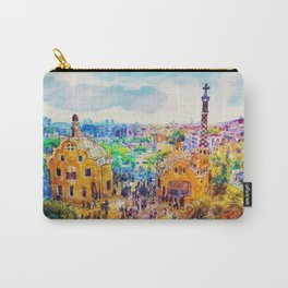 Park Guell Barcelona Carry-All Pouch