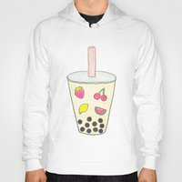 boba Hoodies featuring Boba by Anastasia Flowers