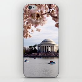 Cherry Blossoms of DC iPhone Skin