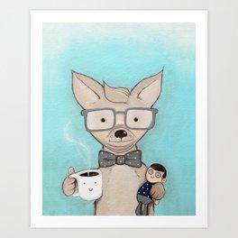 Elliot Art Print