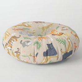 Exotic Cats Floor Pillow