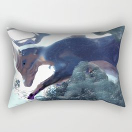 Goat image of the lascaux caves Rectangular Pillow