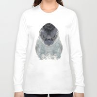 seal Long Sleeve T-shirts featuring little seal by bri.buckley