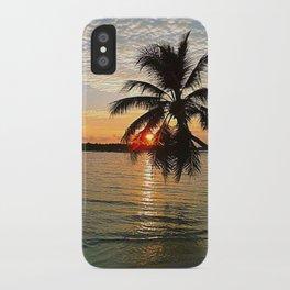 Maledives - Sunset iPhone Case