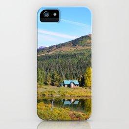 Lake Retreat - Alaska iPhone Case