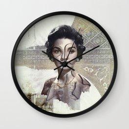 Queen of Egypt / Surrealism Wall Clock